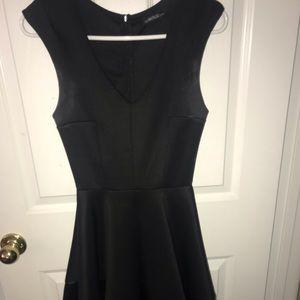 Edgy Black Dress